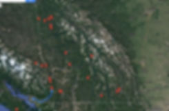 Claims in BC fom the BC Placer Mining Club