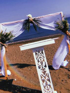 Sahilde nikah hizmetleri