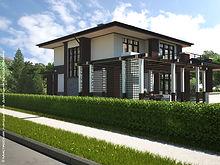 Экстерьер дома, отделка дома, визуализация дома, стиль дома, дома из клееного бруса, красивые дома