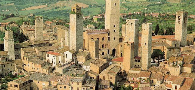 The Towers of Tarquinia