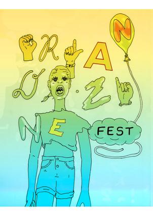 Orlando Zine Fest Poster
