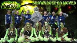 showgroep warcraft tekst