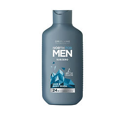 north for men haair and body wash subzer