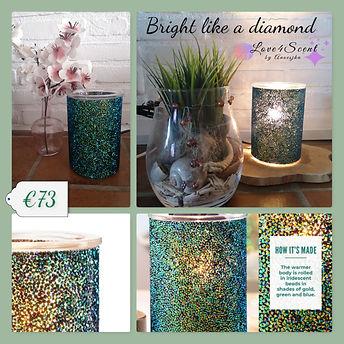 4 collage  bright like a diamond - kopie