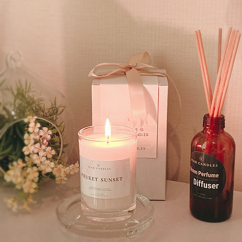 COMBO Reed Diffuser & Candle Set