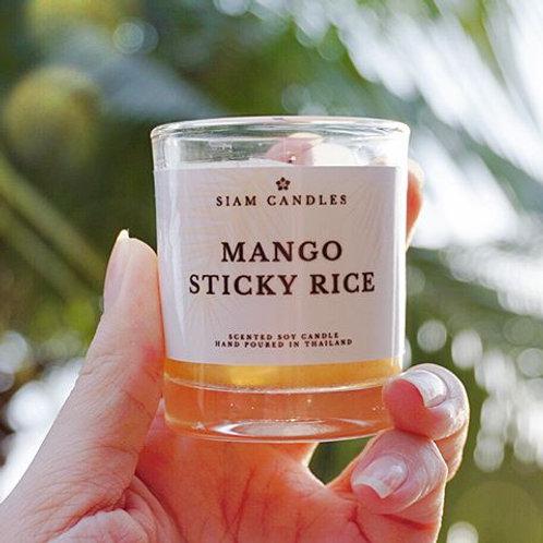 Mango Sticky Rice | 4 oz Mini Soy Candle