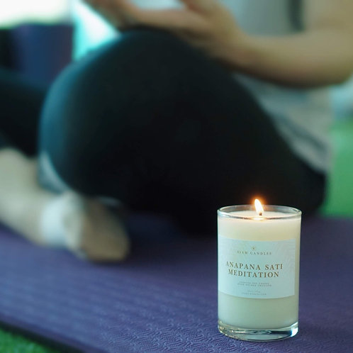 Anapanasati Meditation | 9.5 oz Standard Soy Candle