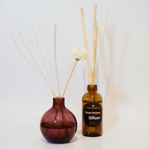 Red Amber Jar Reed Diffuser