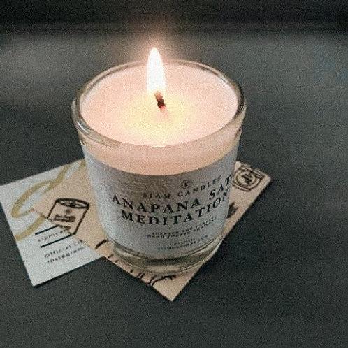 Anapanasati Meditation | 4 oz Mini Soy Candle