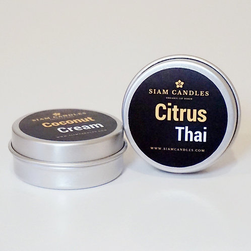 Citrus Thai Lip Scrub with Vegan Organic Sugar