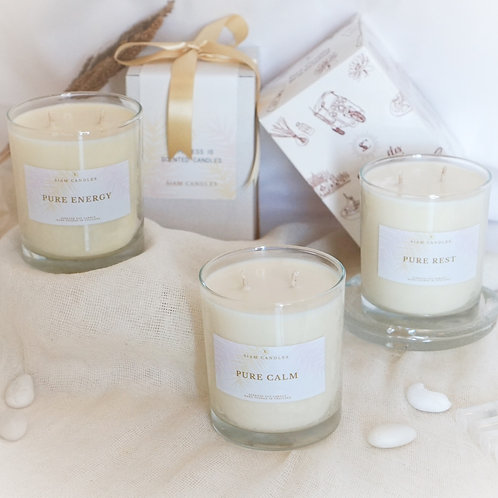 Classic Soy Candles Gift Set