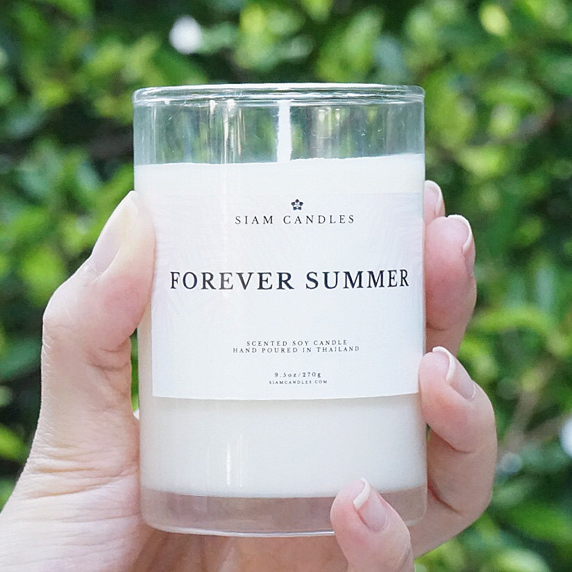 Forever Summer | 9.5 oz Standard Soy Candle | siamcandles