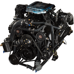 350 MPI TOW SPORT - Engine & Inline Transmission Assembly