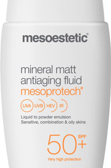 Mesoestetic SunLine mineral matt antiaging fluid SPF50 50ml