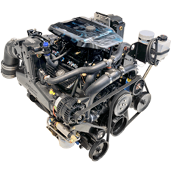 350 MPI Horizon Inboard - Down Angle Engine Only
