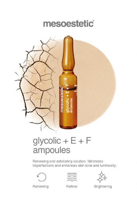 Mesoestetic Glycolic+E+F 10x 2ml