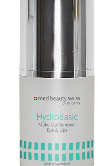 Med Beauty Swiss HydroBasic Make-Up Remover Eye & Lips