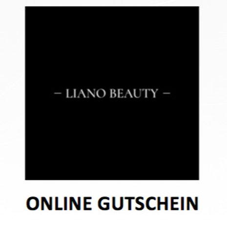 GUTSCHEIN100 für LIANO BEAUTY - ONLINESHOP