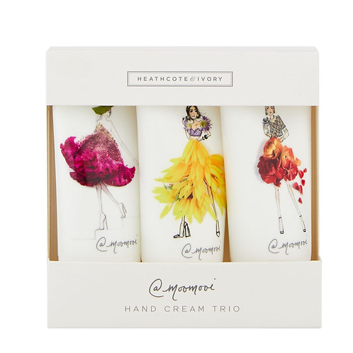 "Heathcote & Ivory ""FLOWER GIRLS"" Sheabutter-Handcreme-Set 3x30ml"