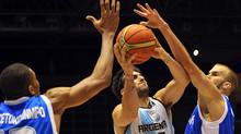 The National Greek Basketball team steams forward