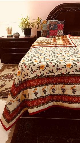 Double ,Cotton Jaipuri Quilt