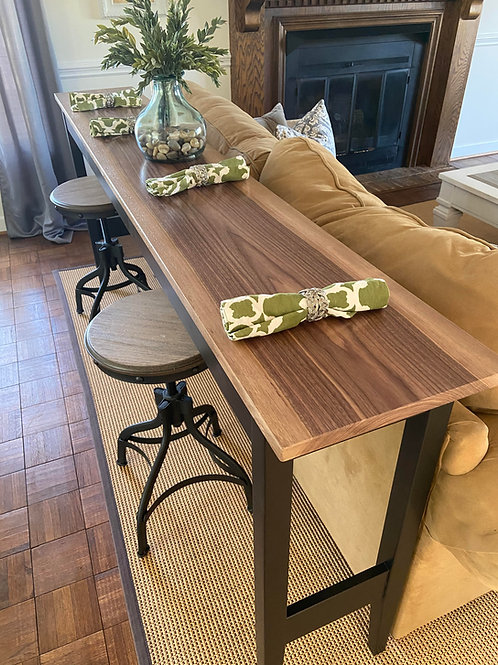 Pub Table / Counter Height Sofa Table