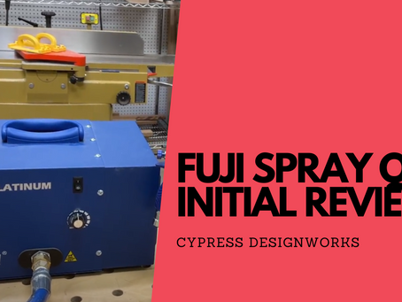 Initial Thoughts On Our New Fuji Spray Q5 Platinum HVLP