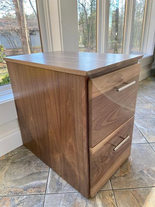 Hardwood Filing Cabinet