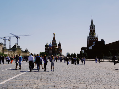 Russia is a Great Touristic destination, specially Moscow!