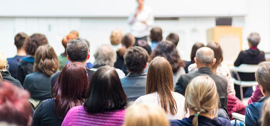 Publikum og Foreleser