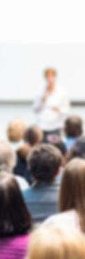 Public et chargé de cours