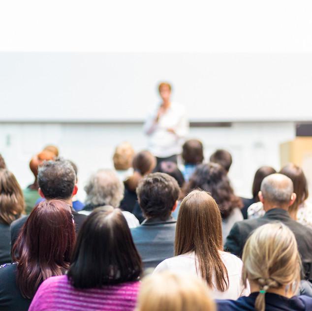 Audience a přednášející