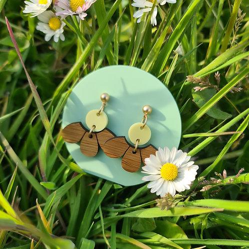 GROW oorstekers daisy geel