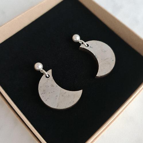 MOON - oorstekers met maan