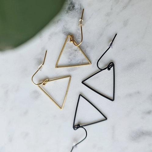 OORHANGERS met open driehoek