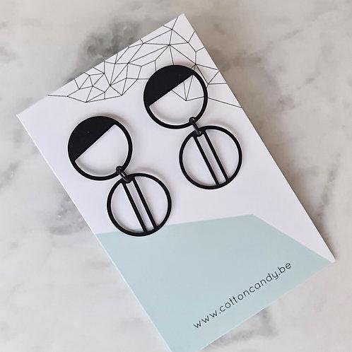 OORSTEKERS met dubbele cirkels