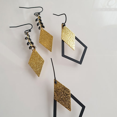 OORHANGERS black and gold 3