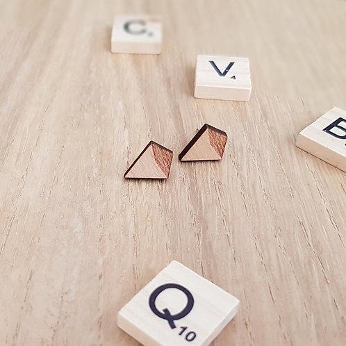 OORSTEKERS hout vierhoek