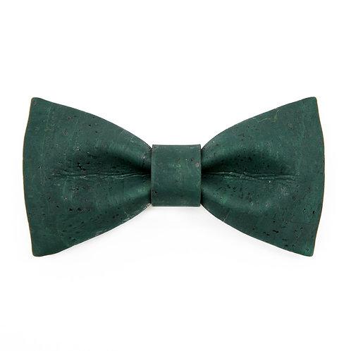 """STRIK uit kurkleer """"Hipbow"""" - 'green velvet'"""