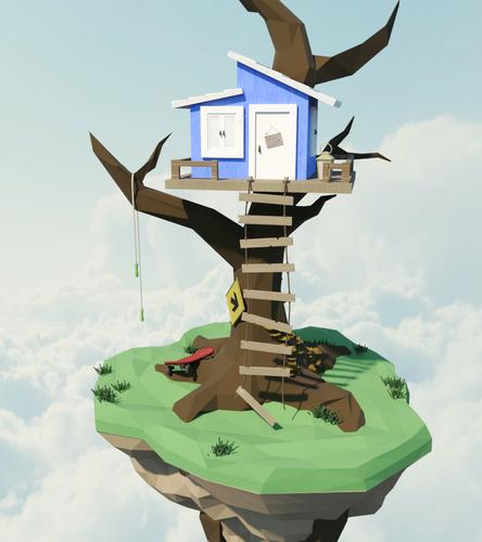Floating Island - Treehouse