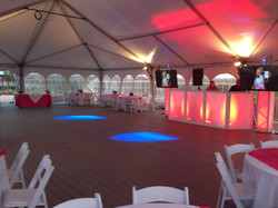 Event Setup in Tent