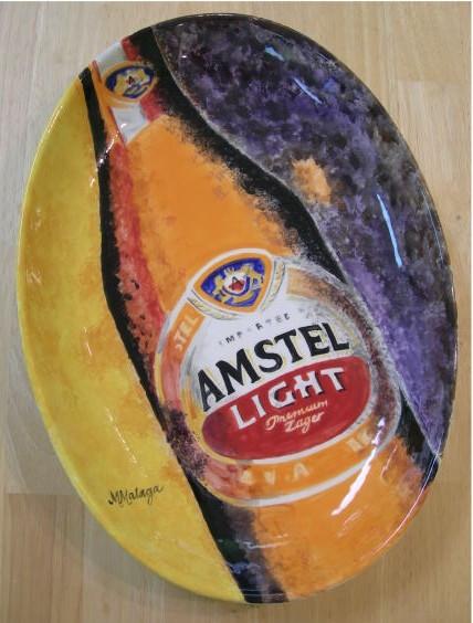 Amstel Light platter