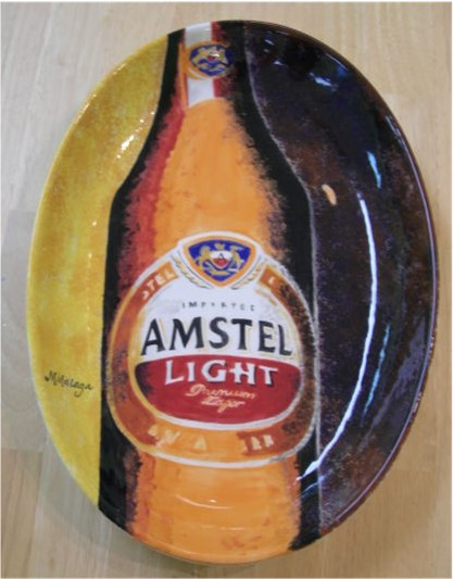 Another Amstel Light platter