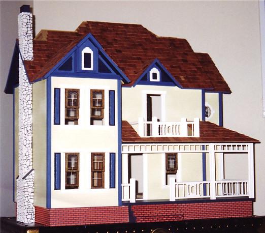 Miniature Dollhouse Mixed Media