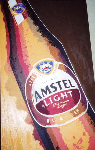 Heineken USA/Amstel Light painting commission