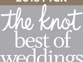 Master Musicians, Inc. NAMED WINNER IN THE KNOT BEST OF WEDDINGS 2018