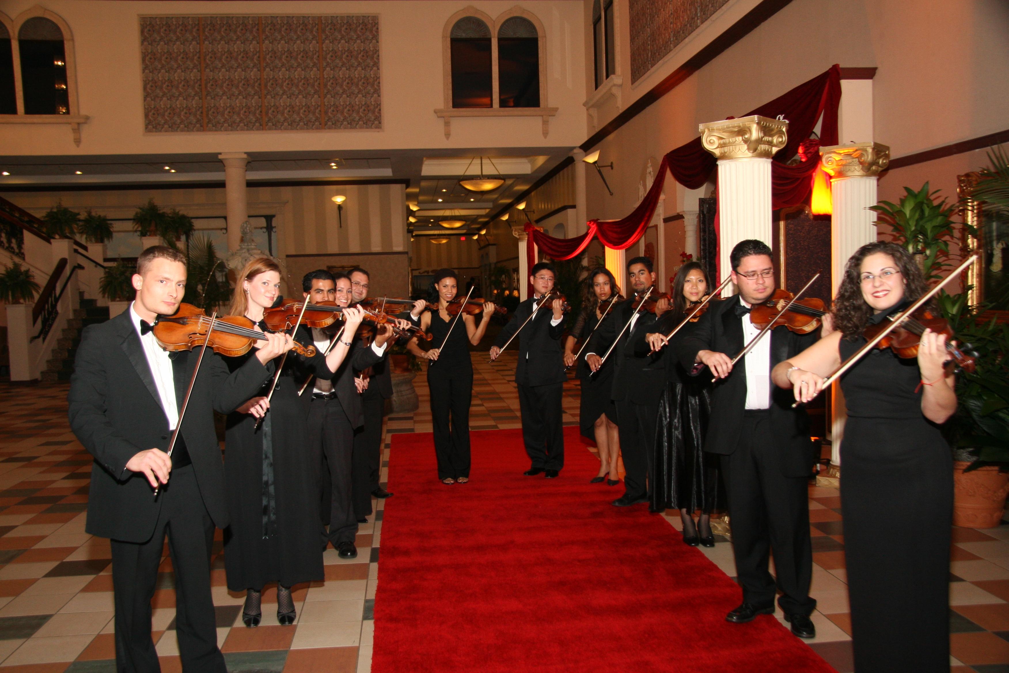 Violin entrance