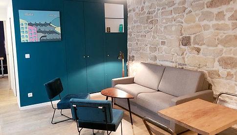 Transparent Marais : Concept Marais apartment