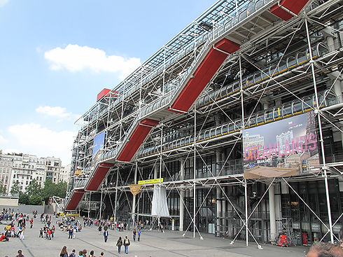 Transparent Marais  Centre Geoges Pompidou - Beaubourg