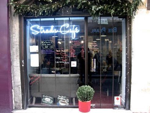 Transparent Marais  : Strada Café